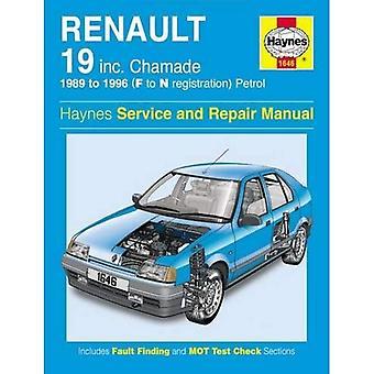 Renault 19 (Petrol) Service and Repair Manual: 1989-1996 (Haynes Service and Repair Manuals)