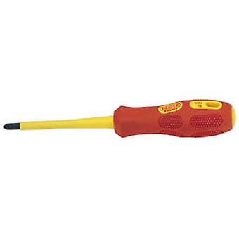 Draper 960Csb Expert No 2 X 100Mm Fully Insulated Cross Slot Screwdriver