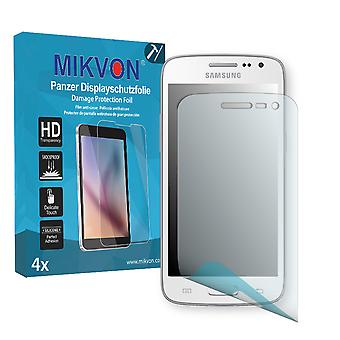 Samsung G386F Galaxy Core LTE Screen Protector - Mikvon Armor Screen Protector (Retail Package with accessories)