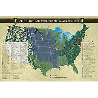 Along the Trail with Lewis� and Clark Poster, Revised Edition