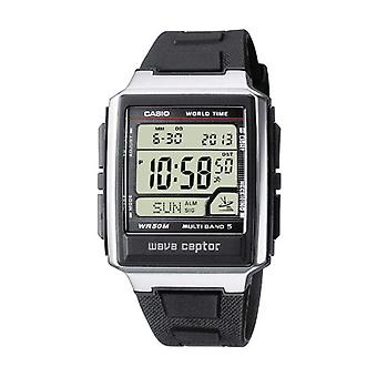 Casio quartz digital watch with black resin strap WV-59E-1AVEF
