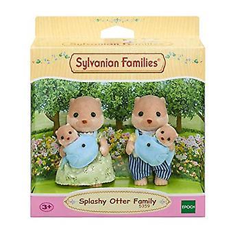 Famille de loutre familles Sylvanian 5359