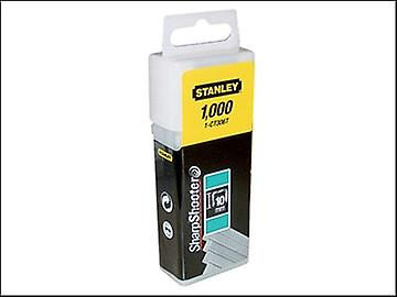 Stanley Tools Flat Narrow Crown Staples 10mm CT306T Pack 1000