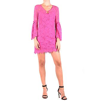 Pinko Pink Cotton Dress