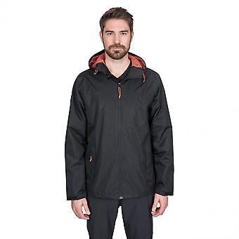 Traspaso Mens Kelty impermeable al viento chaqueta con capucha