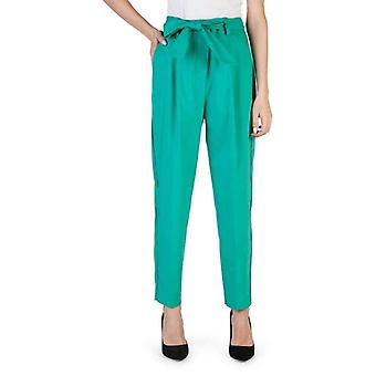 Imperial Women Green Trousers -- PUX0987184