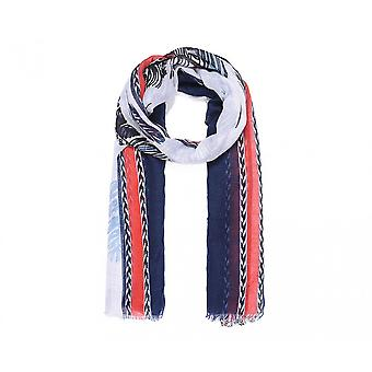 Intrigue Womens/Ladies Arrow Stripe Feather Print Scarf