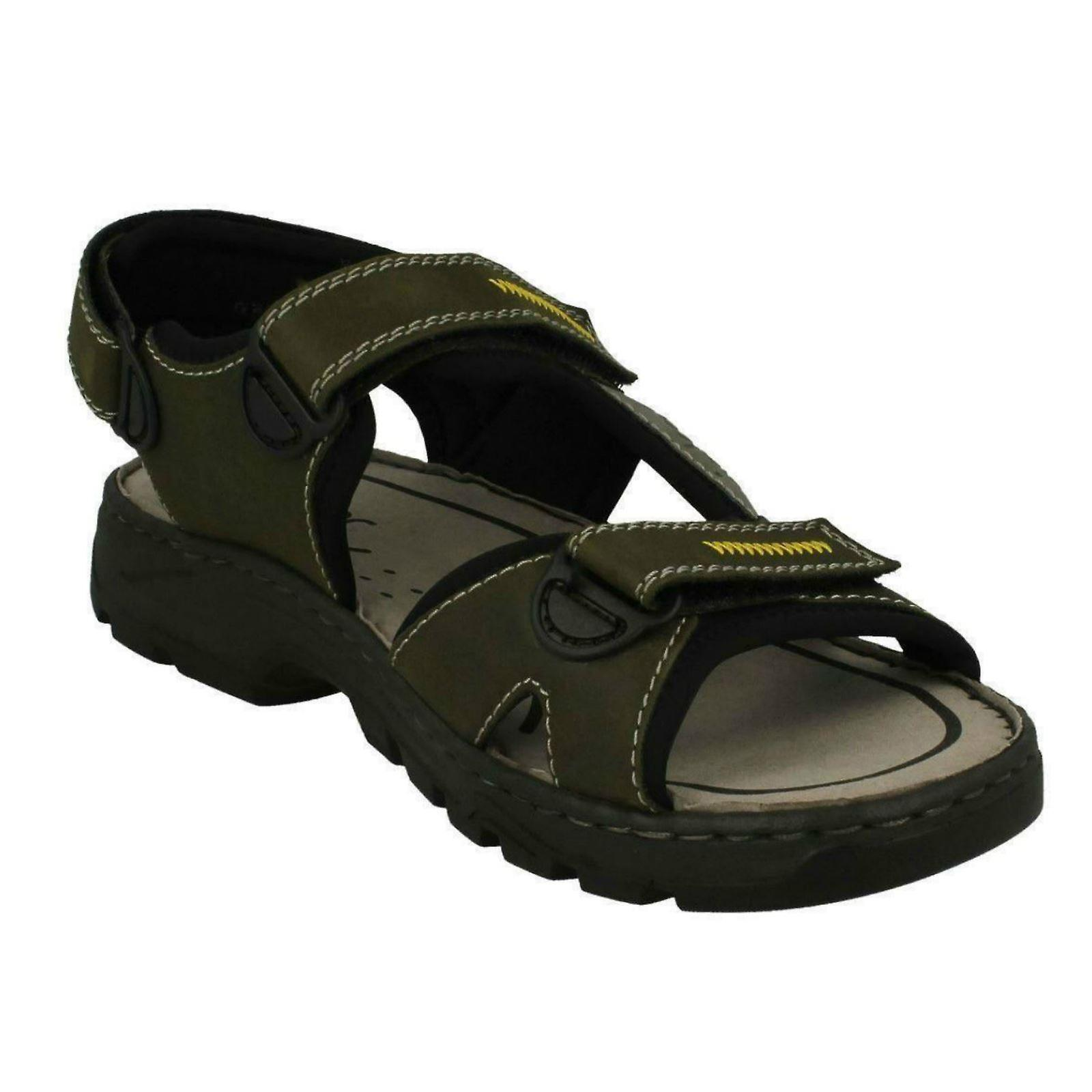 info for 728aa 13c0c Mens Rieker Casual Strapped Sandals 26157-54 - Green Combi Synthetic - UK  Size 9.5 - EU Size 44 - US Size 10.5