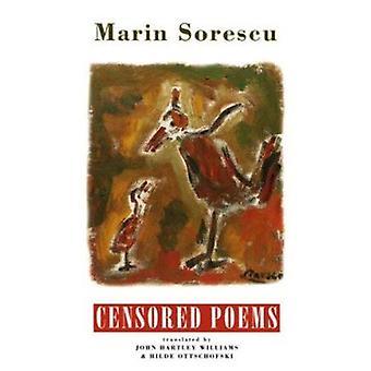 Censored Poems by Marin Sorescu - John Hartley Williams - Hilde Ottsc