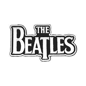 Les Beatles patch classique Drop T bande logo blanc nouveau officiel Die Cut coudre sur