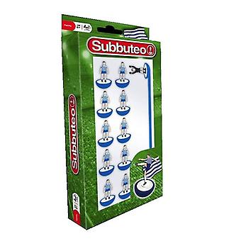 Subbuteo Table Football Generic Blue - White Team