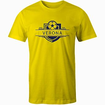 Chievo Verona 1929 Established Badge Football T-Shirt