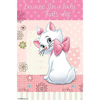 Poster - Marie - Lady New Wall Art 22