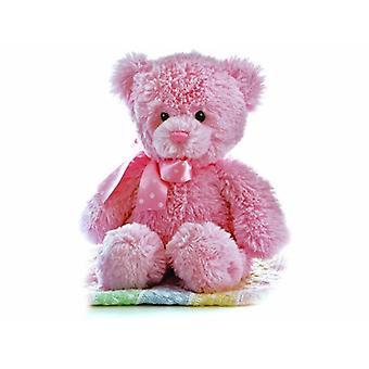 Aurora World 12-inch Yummy Bear (Pink)