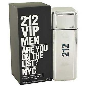 212 Vip By Carolina Herrera Eau De Toilette Spray 3.4 Oz (men) V728-492572