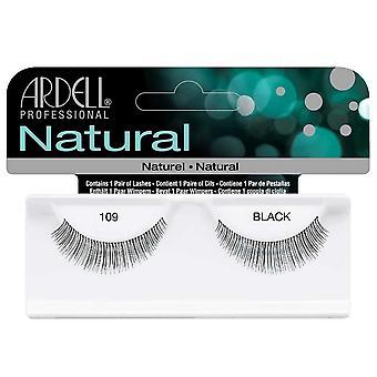 Ardell Natural 109 Black Easy To Apply Full False Eye Lashes