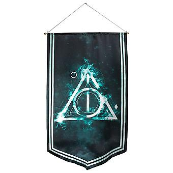 Harry Potter Deathly Hallows satijn banner