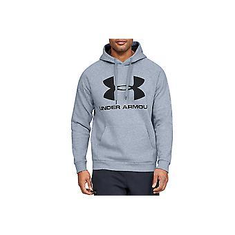 Under Armour Rival Fleece Sportstyle Logo Hoodie 1345628-035 Herren Sweatshirt