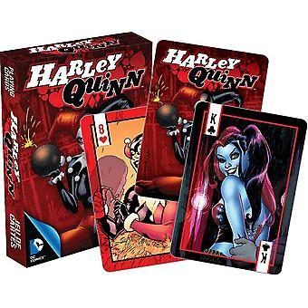 DC Comics Harley Quinn set of playing cards (red box version)    -nm 52368-