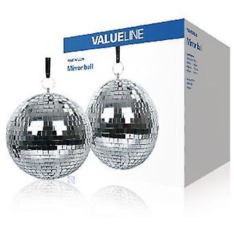 Valueline зеркальный шар 20 см (освещение, освещение интерьера, декоративные фонари)