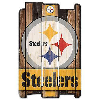 Wincraft PLANK Wood Sign Wood Sign - Steelers de Pittsburgh