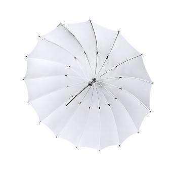 BRESSER SM-08 Jumbo Durchlichtschirm 180 cm weiß