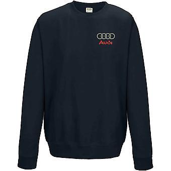 Audi Hoops Motoring Embroidered Logo - Sweatshirt