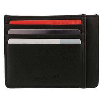 Timberland Men's Case Case Case Card Case Card Black 8220