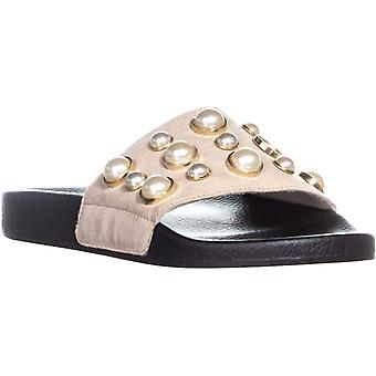 Bar III Womens Sara Open Toe Beach Slide Sandals