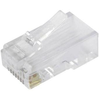 BEL Stewart Connectors SS-37000-002, Pin RJ45 Plug, straight Glassy