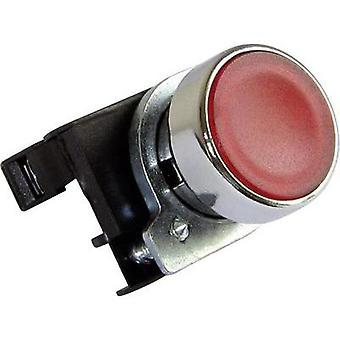 Pushbutton planar, Front ring (steel), + contact Red EMAS CM200DK 1 pc(s)