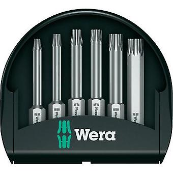 Bit set 6-piece Wera MINI CHECK 50 mm TX VE 20 05056472001