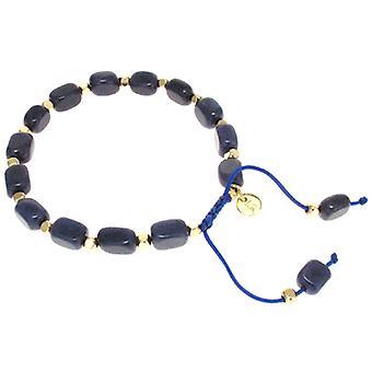 Lola Rose Starla Bracelet French Navy Quartzite
