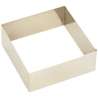 Lacor St. Steel Square Pastry Mould 10X10 Cms.