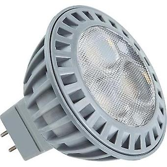 LED GU5.3 Reflector 5 W = 33 W Warm white (Ø x L) 50 mm x 45 mm EEC: A+ Müller Licht 1 pc(s)