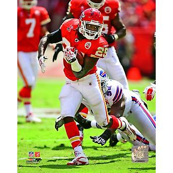 Jamaal Charles 2011 Action Photo Print