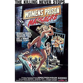 Womens Prison Massacre Movie Poster Print (27 x 40)