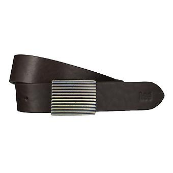Lee belts men's belts leather belt Brown 4649