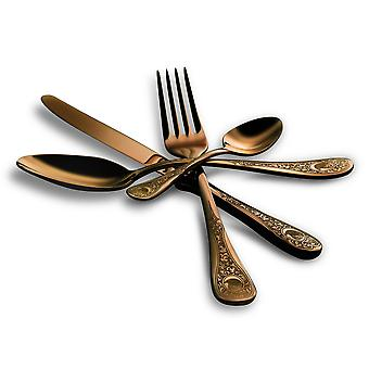 Mepra Diana Bronzo 5 pcs flatware set