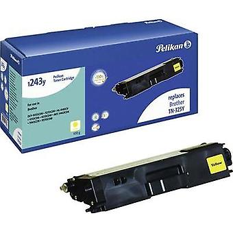 Pelikan Toner cartridge replaced Brother TN-325Y Compatible Yellow 3500 pages 1233Y
