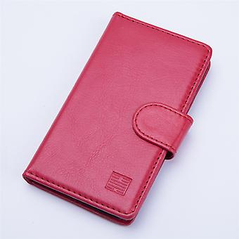 Book wallet + stylus for Alcatel Pixi 4 (5.0) 3G OT-5010 - Red