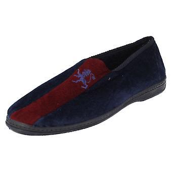 完全靴ライオン - ネイビー、サイズ 8 英国メンズ スポット