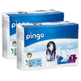 Pingo Newborn Diapers 2-5 Kg T1 Bio, 27 Units (Enfance , Couche et changes , Couches)