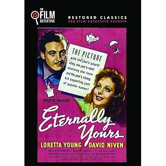 Eternally Yours [DVD] USA import