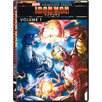 Iron Man: Importar de USA animación de Series Vol. 1 [DVD]