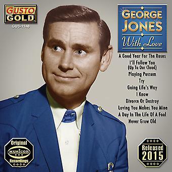 George Jones - importación de Estados Unidos con amor [CD]