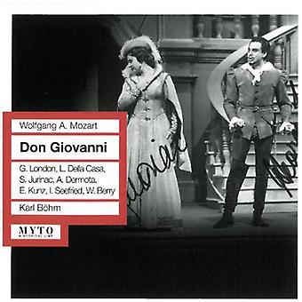 Mozart / Smetana / Tchaikovsky / Offenbach - Don Giovanni (Sung i tysk) [CD] USA import