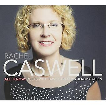 Rachel Caswell - All I Know [CD] USA import