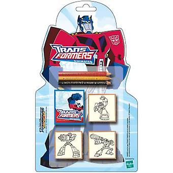 Multiprint Blister Sellos Figuras Transformers