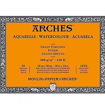 Arches akvarel blok ru 20 ark